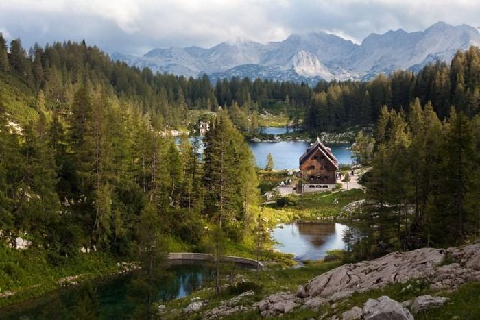 Triglav Lakes huts
