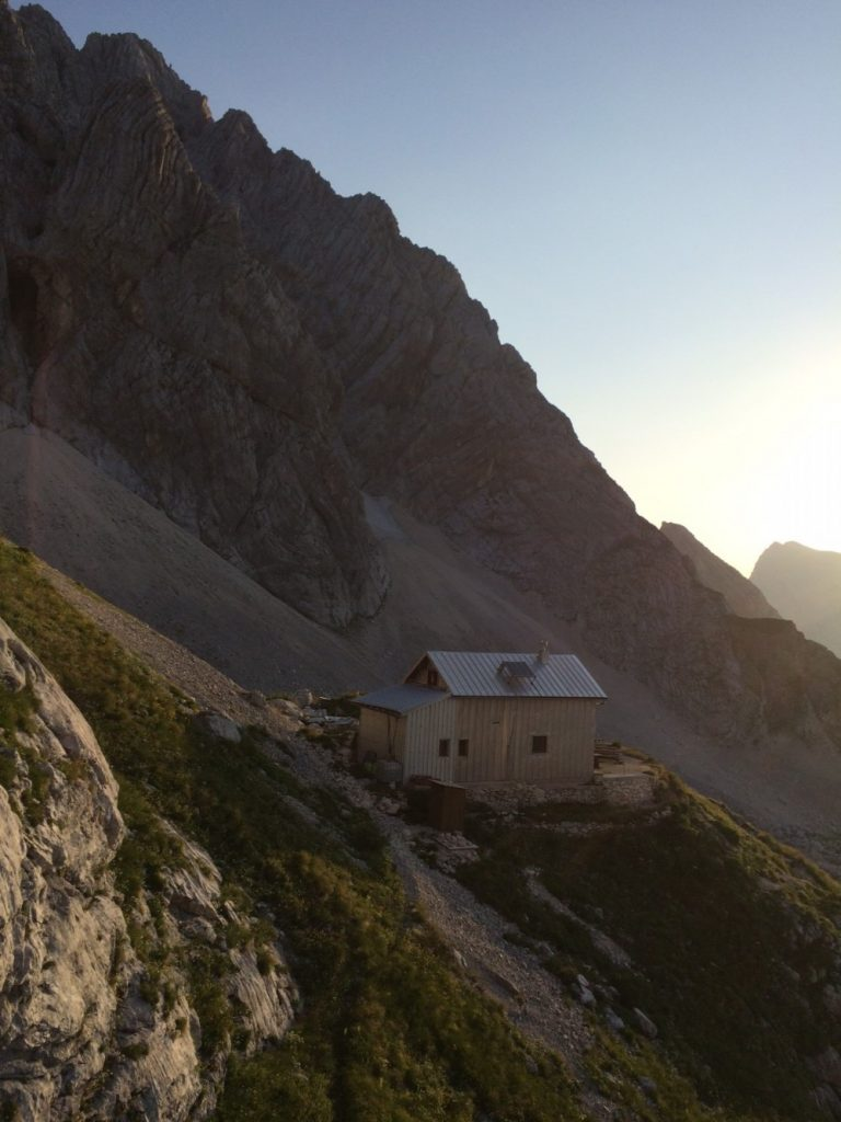 triglav mountains refuge