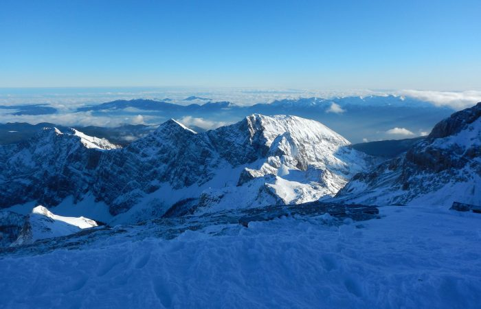 Mt. Triglav in winter