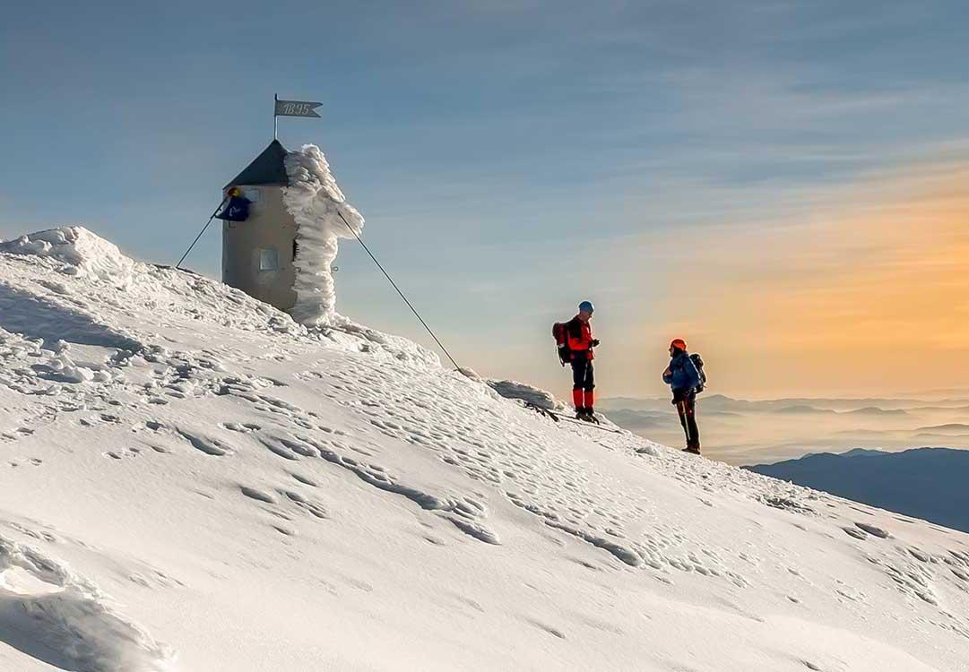 Mt. Triglav in winter